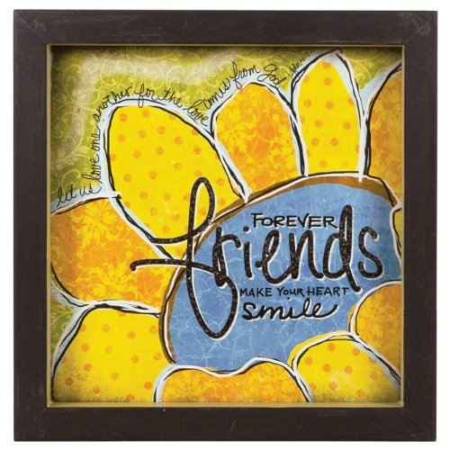 Carson Home Accents Blessed Forever Friends Shadow Box