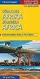 Carte de voyage Afrique du sud 1 : 4 Mio