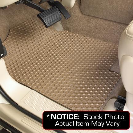 Front 4 Tan Floor Door (Honda Civic Lloyd Mats Custom-Fit All-Weather Rubbertite Floor Mats 2 Piece Front Set - 4 Door - Hybrid - Tan (2003 03 2004 04 2005 05 ))