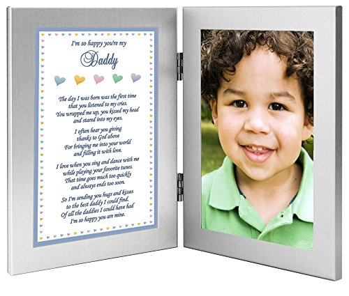 """Daddy Frame """"I'm So Happy You're My Dad"""" Gift from Son to..."""