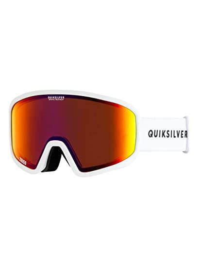 4f91e6e81fc Image Unavailable. Image not available for. Color  Quiksilver Mens Browdy -  Ski Snowboard Goggles ...
