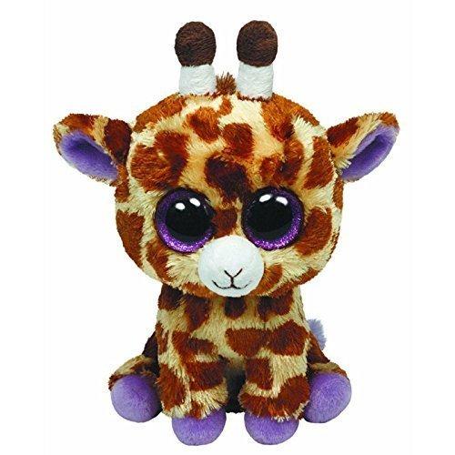 TY Beanie Boos  SAFARI the Giraffe (Glitter Eyes) (Regular Size  6 inch) by Ty Beanie Boos