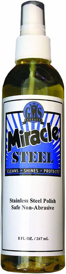 Miracle Steel Polish- 8 Oz