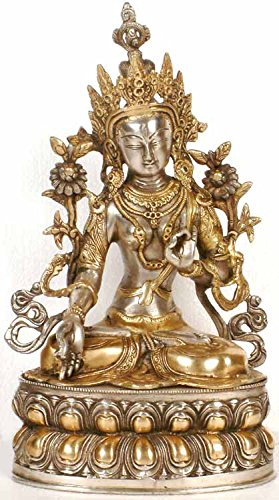The White Tara – Brass Statue