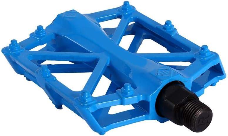 Pedal de cojinete Sellado para 9//16 MTB BMX Road Mountain Bike Cycle Cuerpo de fundici/ón de aleaci/ón Ligera de Aluminio VGEBY1 Pedales de Bicicleta 5 Colores Brillantes//Antideslizante