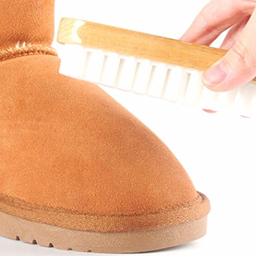 Unmengii Home Soft No Handled Boot Cleaner Suede Nubuck Cleaning Tool Dust Scrubber Shoes Brush
