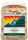 Mother Earth Products Freeze Dried Mushrooms, Quart Jar