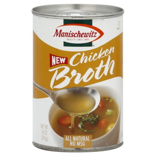Manischewitz Chicken Broth, 14-Ounce Cans (Pack of (Manischewitz Chicken Broth)