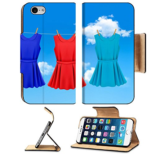 msd-premium-apple-iphone-6-iphone-6s-flip-pu-leather-wallet-case-set-of-colored-dresses-hanging-on-a