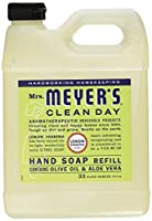 Mrs. Meyers Liquid Hand Soap Refill Lemon Verbena 33 Ounces