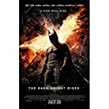 (11x17) The Dark Knight Rises A Fire Will Rise A Movie Poster