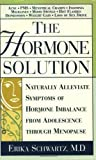 img - for The Hormone Solution by Erika Schwartz (2002-05-31) book / textbook / text book