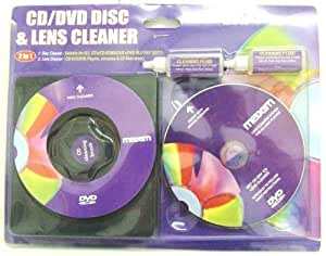 4 PC PIECE 2 IN 1 CD DVD BLU RAY DISC AND LENS CLEANER