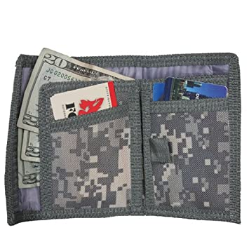 ACU Digital Camouflage Commando Monedero: Amazon.es ...