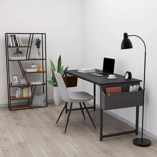 """CubiCubi Home Office Industrial Simple Computer Desk 47/"""" Study Writing Table for"""