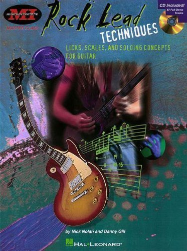 Rock Lead Techniques: Techniques, Scales and Fundamentals for Guitar (Musicians Institute Press) (1998-03-01)