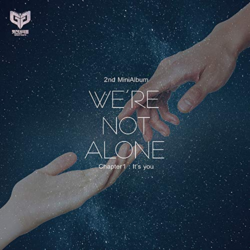 DNA Entertainmnet Great Guys - We're not Alone_Chapter1:It's You (2nd Mini Album) CD+80p Photobook+Postcard