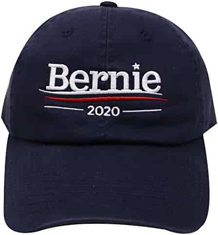 8d40709b45901 City Hunter Unisex C104 Bernie Sanders 2020 Cotton Baseball Cap In Navy
