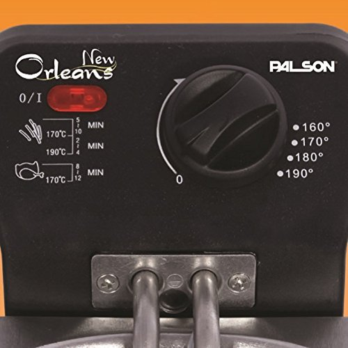 Palson New Orleans 30648 Deep fryer, 3 l, 3 litros: Amazon.es: Hogar