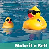 GAME Solar Light-Up Derby Duck Pool