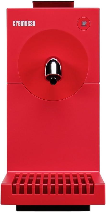 Cremesso Uno Fire Red - Cafetera de cápsulas, color rojo: Amazon ...