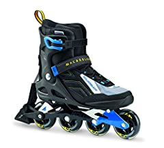 Macroblade 80 abt features the latest active brake technology, stability, comfort and value. A perfect recreational skate to get you rolling - ideal as a first pair of skates loaded with all the right features. Abt brakes provide more power a...