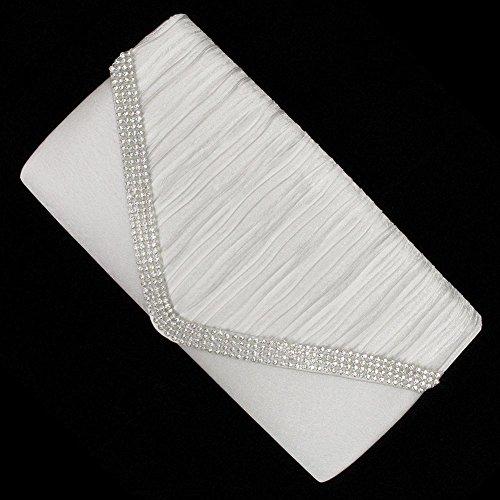Bridal Wedding Accessories.co.uk, Poschette giorno donna Bianco bianco