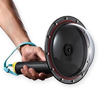 TELESIN GoPro Dome Port lente Protect Carcasa para GoPro ...
