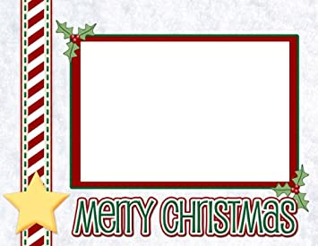 digital download merry christmas card layout - Christmas Card Layout