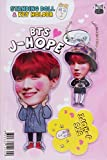 BTS J-HOPE - STANDING DOLL & KEY HOLDER SET