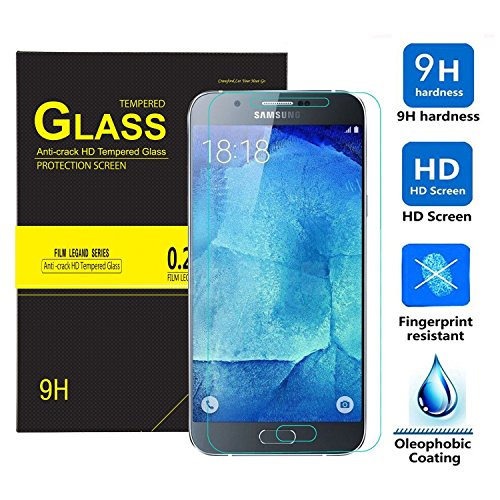 LG Q6 Screen protector, KuGi 9H Hardness HD clear...