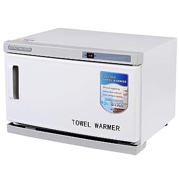 16L 2 en 1 Caliente UV Esterilizador de Toallas Toalla Calentador Desinfección Gabinete para SPA Masaje Belleza Salón Hotel Tatuaje Equipo: Amazon.es: ...