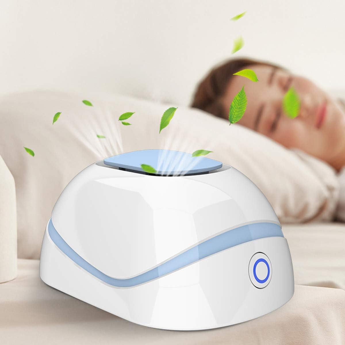 iFCOW Generador de ozono, purificador de aire eléctrico, esterilizador portátil, purificador de aire recargable, eliminador de olores y bacterias para el hogar, para oficina, mascotas