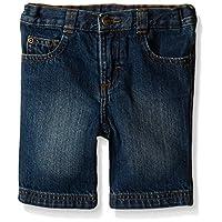 Wrangler Authentics Toddler Boys' Slim Straight 5-Pocket Short, Mid Blue, 2T