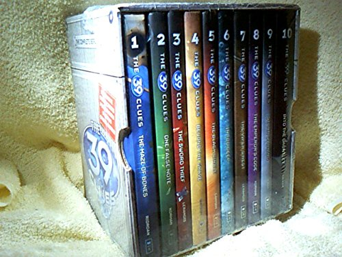 The 39 Clues (10 Volume Set), Rick Riordan; Gordon Korman; Peter Lerangis; Jude Watson; Patrick Carman; Linda Sue Park; Margaret Peterson Haddix