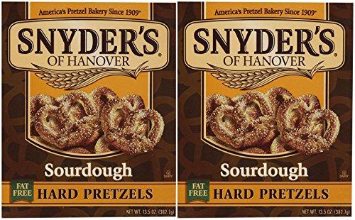 Snyder's of Hanover Sourdough Hard Pretzel Box - 13.5 oz - 2 pk