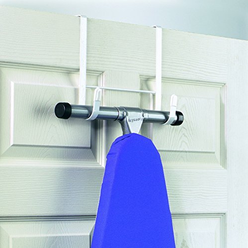 Charmant Amazon.com: Spectrum Diversified Over The Door Ironing Board Holder, White:  Home U0026 Kitchen