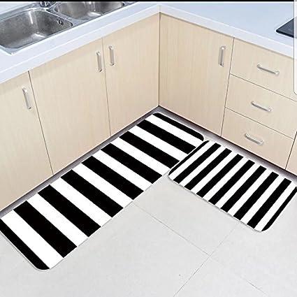 Amazoncom Infinidesign 2 Piece Kitchen Rubber Backing Non Slip