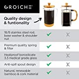 GROSCHE Melbourne French Press Coffee Maker with