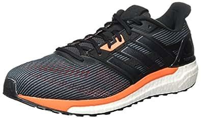 Adidas Supernova M- Zapatillas Running para Hombre, Gris (Utility Black /core Black/solar Orange), 43 1/3 EU