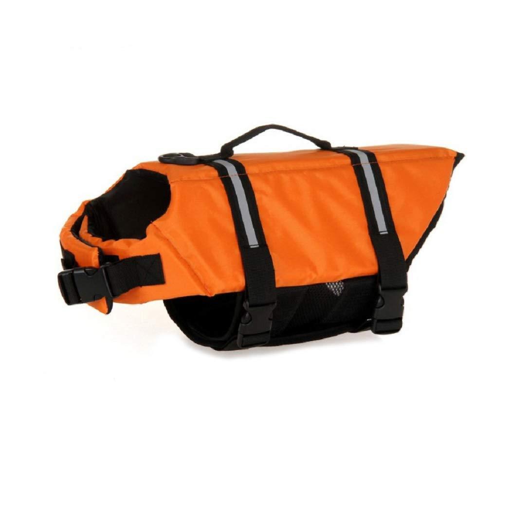 Chaleco salvavidas para perro de KayMayn, para seguridad de mascotas, para nadar e ir en barco, flotador seguro y reflectante: Amazon.es: Productos para ...