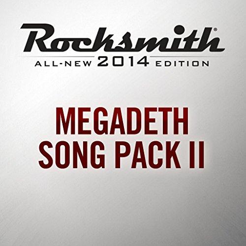 Rocksmith 2014 - Megadeth Song Pack II - PS4 [Digital Code]