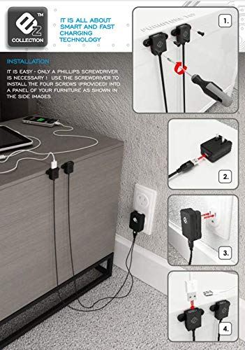 Dual-Port Attachable USB - Charger Innovations Cellular Battery