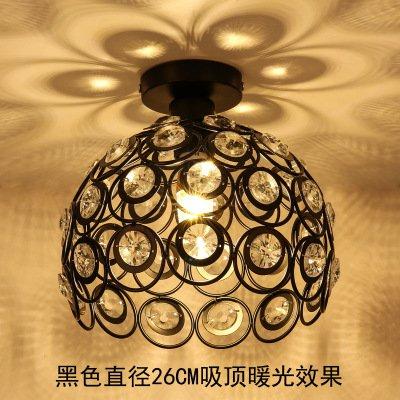 Cristal lampe personnalité créative couloir couloir lampe lampe entrée balcon lampe chambre lampe lampe suspendue Restaurant, Ten