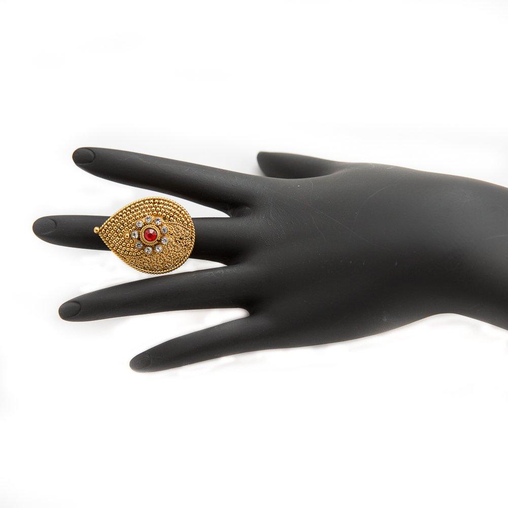 Array - amazon com  pakistani ethnic indian gold plated adjustable      rh   amazon com