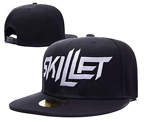 DEBANG Skillet Band Logo Adjustable Snapback Embroidery Hats - Skillet Band Hat
