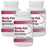Natural Living Belly Fat Burner – 3 Bottles