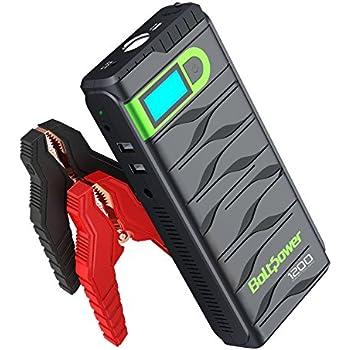 Amazon bolt power n02 1200 amp peak 12 volt car battery jump bolt power n02 1200 amp peak 12 volt car battery jump starter for light fandeluxe Gallery