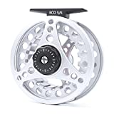 Maxcatch BLC Fly Reel Large Arbor with Diecast Aluminum Body (3/4wt 5/6wt 7/8wt) (ECO reel, 7/8 weight)
