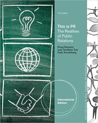 Cengage Advantage Books: This is PR: The Realities of Public Relations